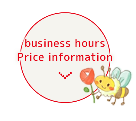 business hours Price information